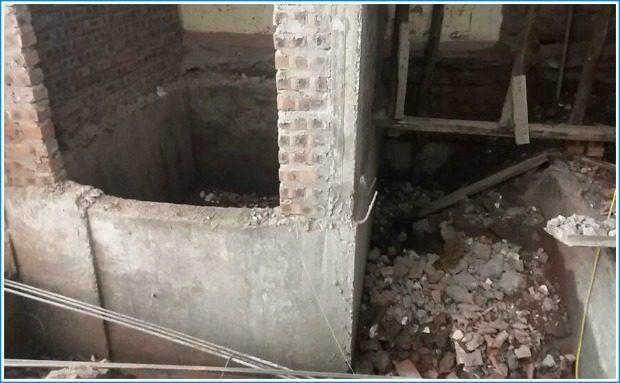 thang máy cho nhà cải tạo