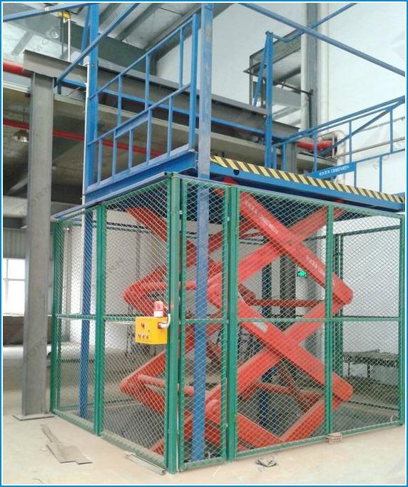 thang máy tải hàng mitsubishi
